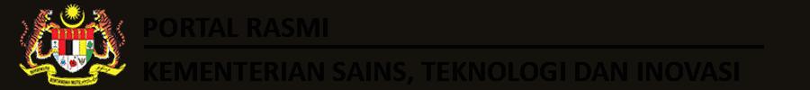 Portal Rasmi Kementerian Sains, Teknologi dan Inovasi