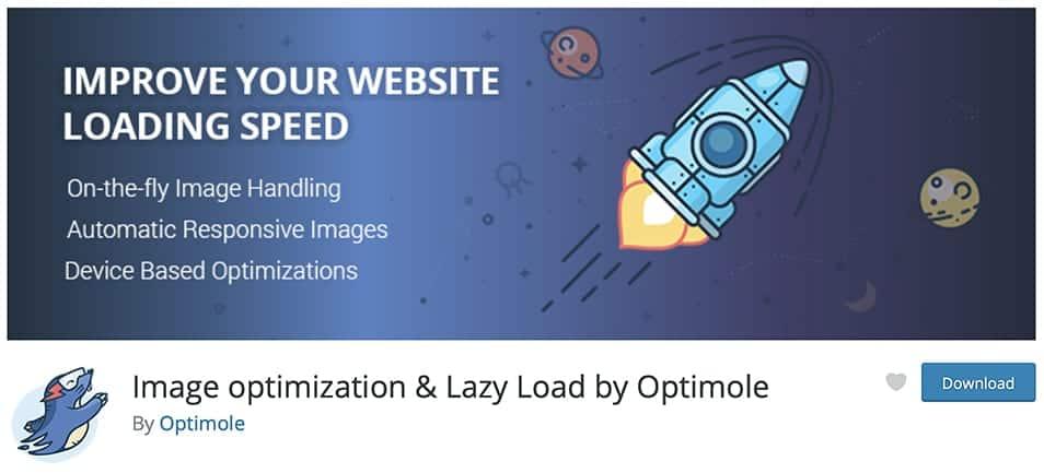 Image optimization & Lazy Load by Optimole