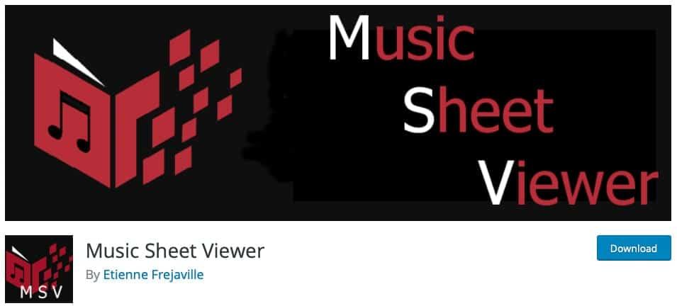 Music Sheet Viewer