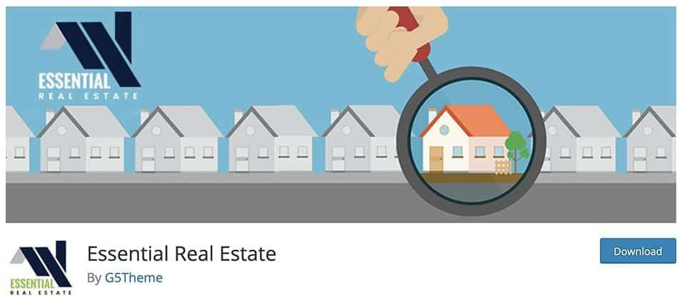 Essential Real Estate free plugin