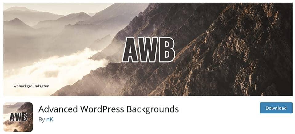 Advanced WordPress background plugin