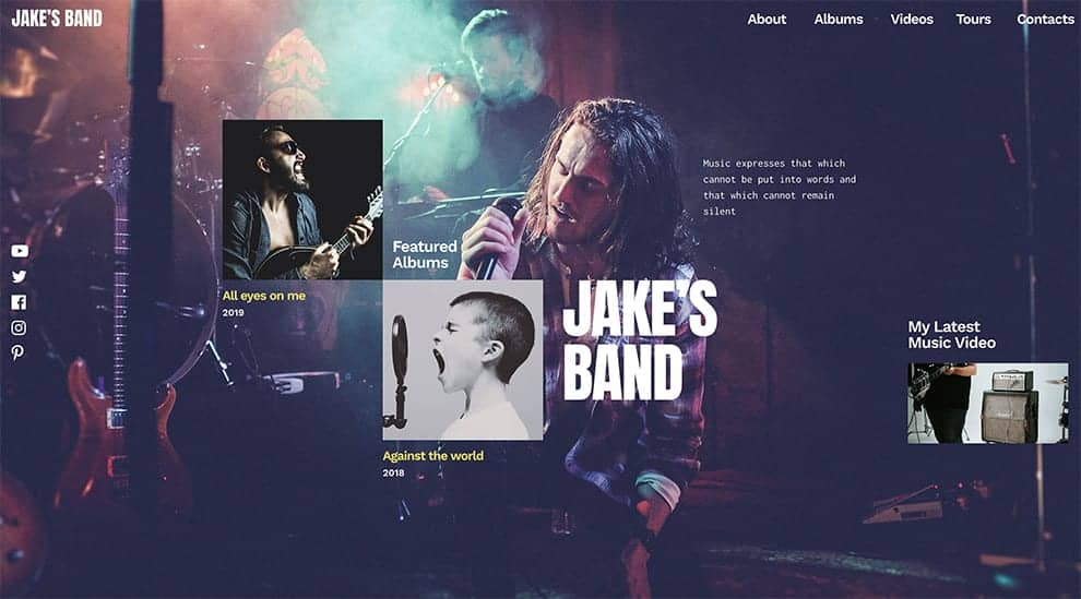 band template slider free