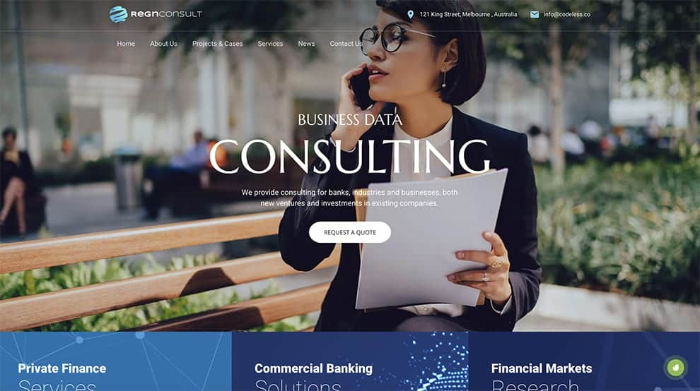 consulting template