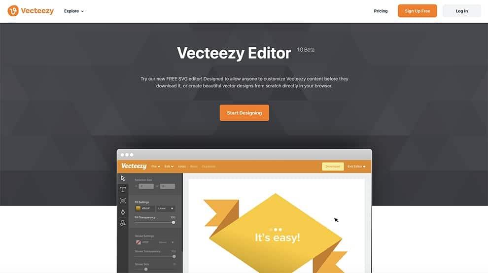 Vecteezy Editor free online