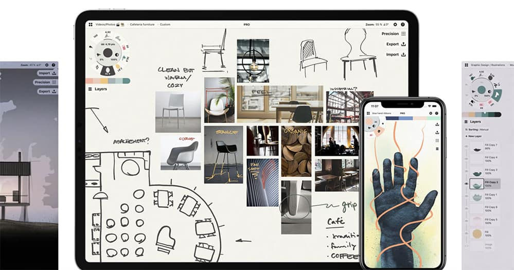 concepts app for conceptual drawing