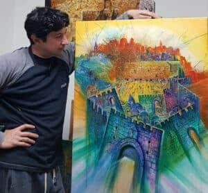contemporary jerusalem art