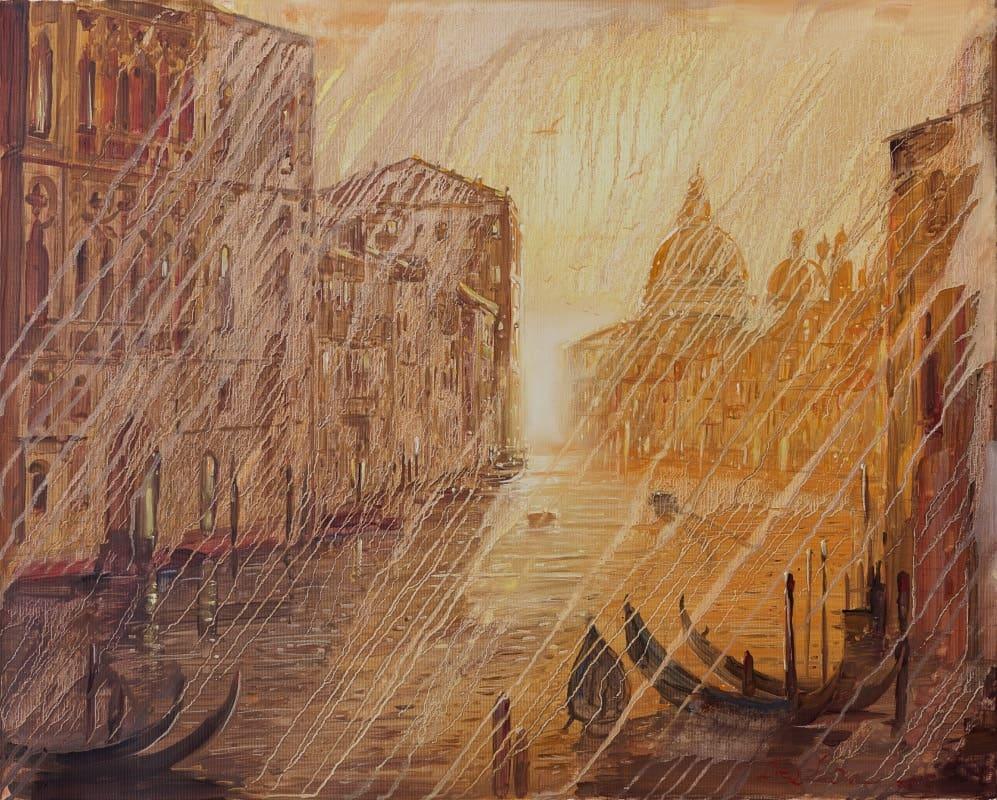 Venice modern painting