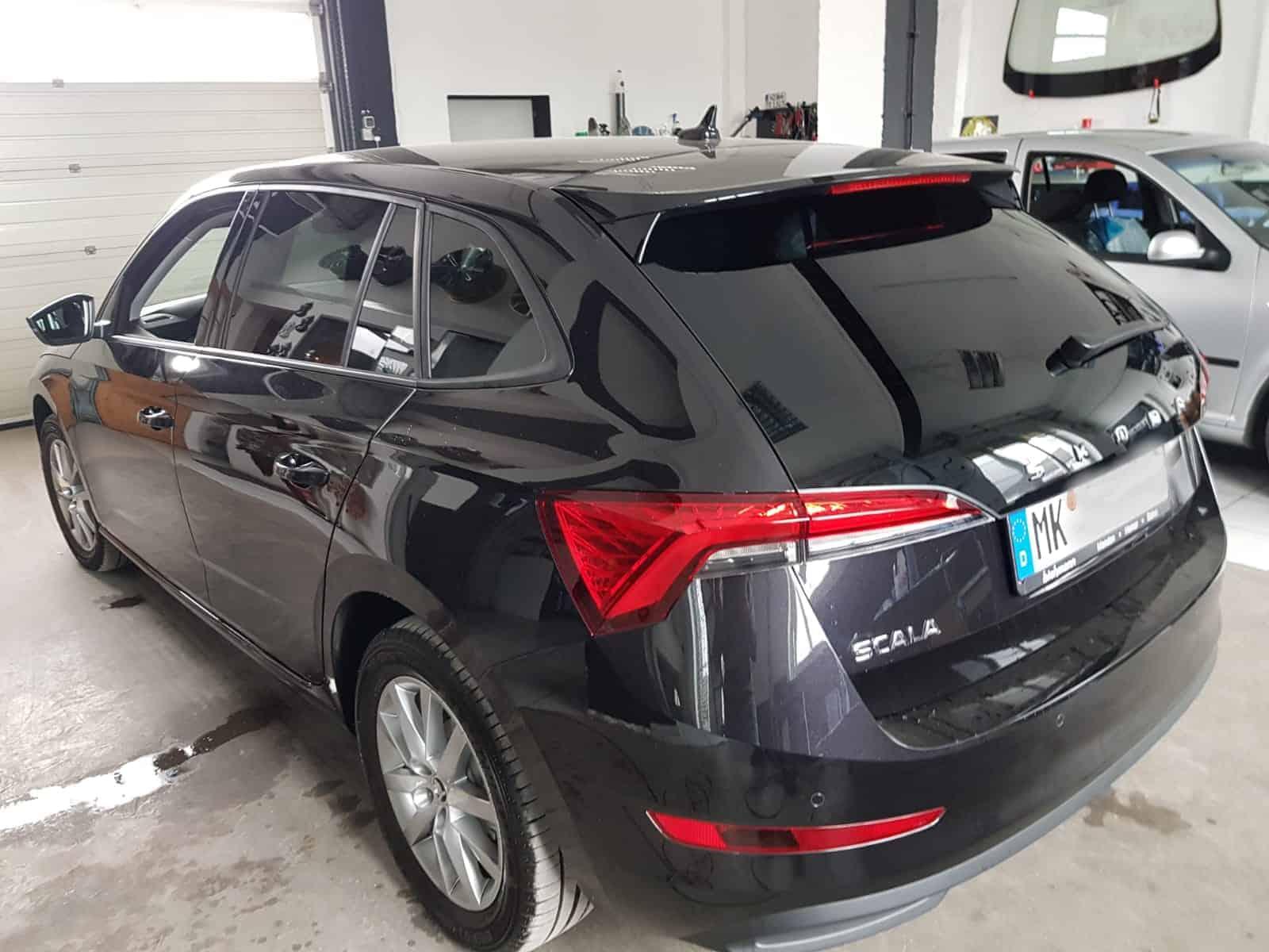 Scheibentönung VW Skoda Scala - RZ Menden das Original