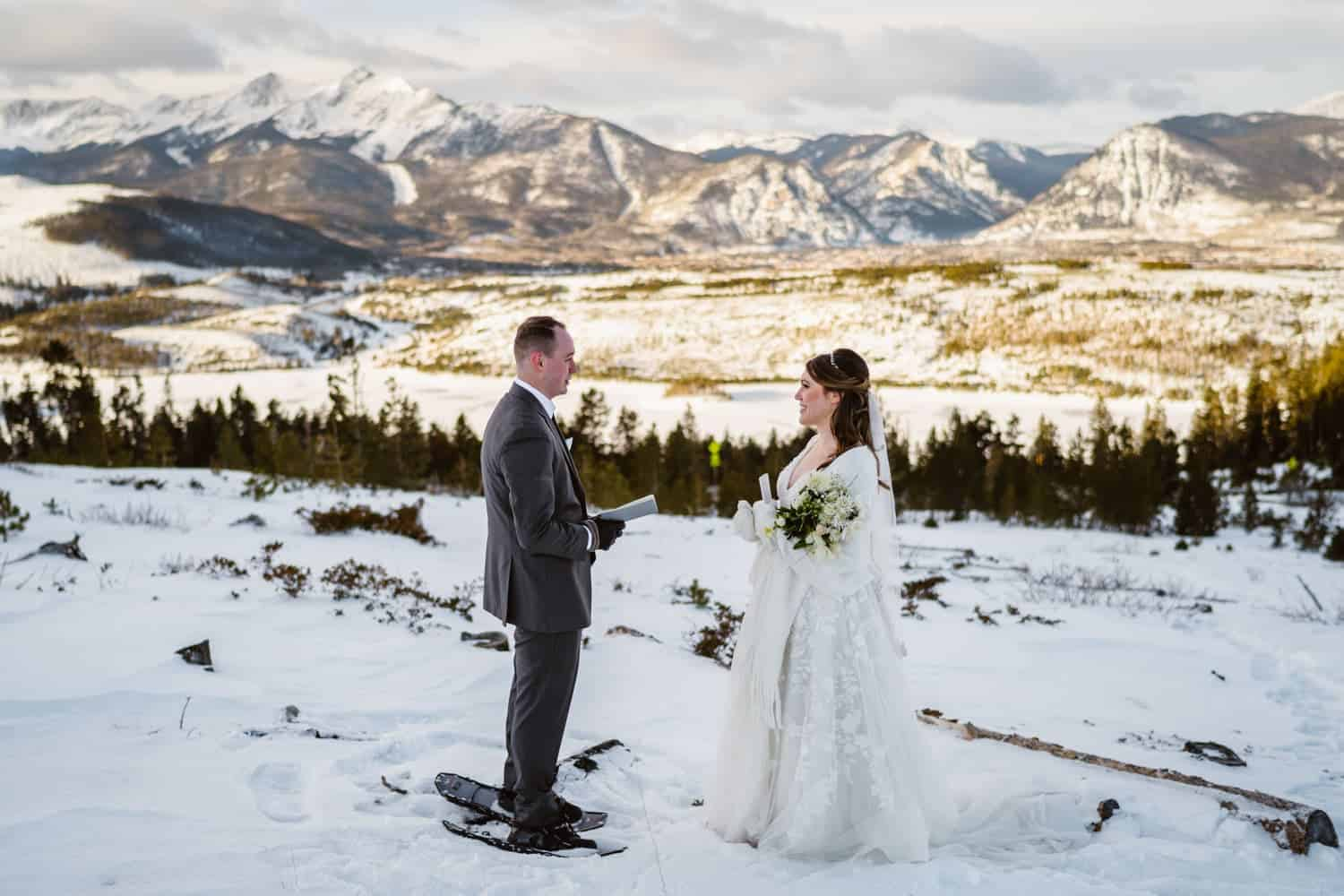 Best Places to Elope in Colorado Sapphire Point Overlook