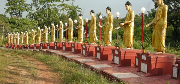 Some Buddhist lessons in Bago