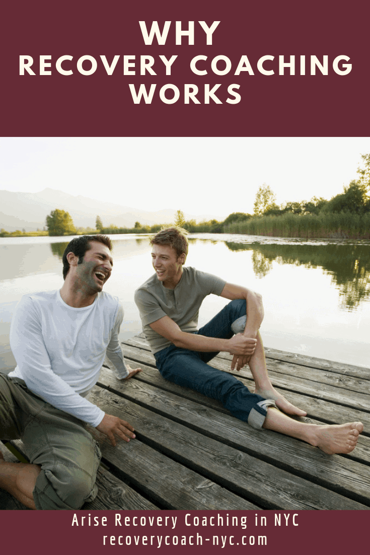 Ebook cover link : Why recovery coaching works by arise recovery coaching in NYC