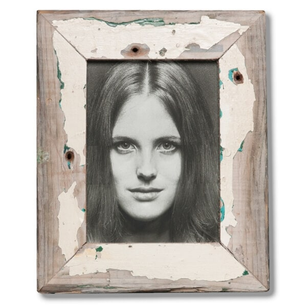 15x20cm Distressed Wooden Picture Frame