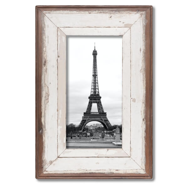 A4 skinny Rustic Wooden Picture Frame