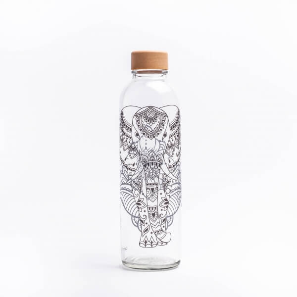 CARRY Glastrinkflasche 0,7l - Elephant