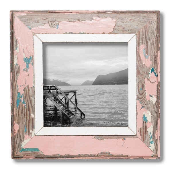 A4 square Distressed Wooden Picture Frame