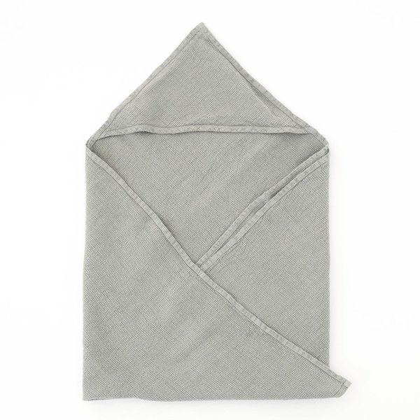 Kids Washed Linen Hooded Towel - Lithuania