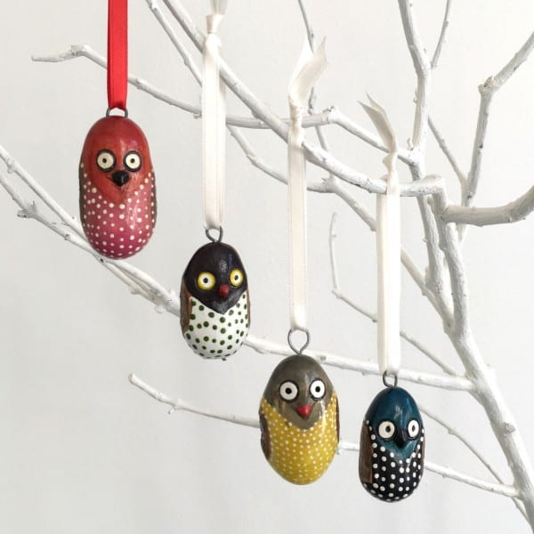Mifuko Wooden Ornament Collection - Kenya