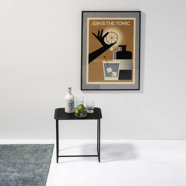 Side table Grid 02 black - Germany