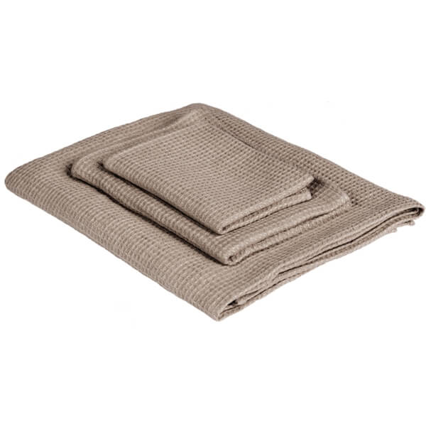Linen guest towel LAUJA Wafflepique - Nature - Lithuania