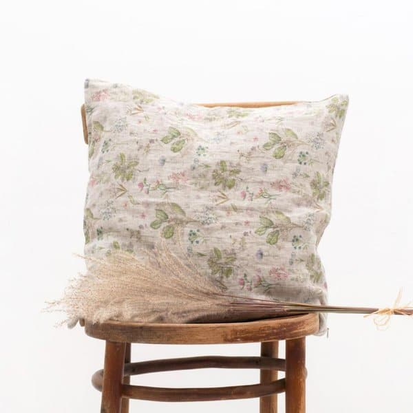 Botany Washed Linen Cushion Cover - Lithuania
