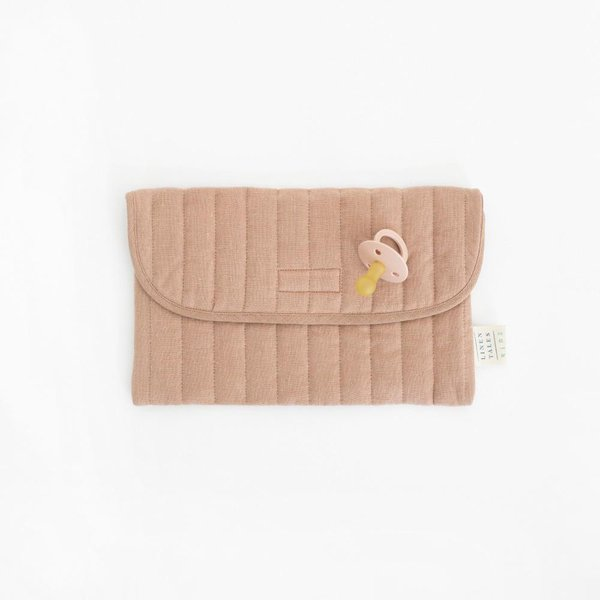 Kids Washed Linen Pouch - Lithuania