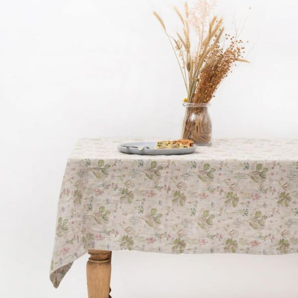 Botany Washed Linen Tablecloth - Lithuania