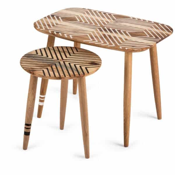 Nested table set with Pattern - South Africa