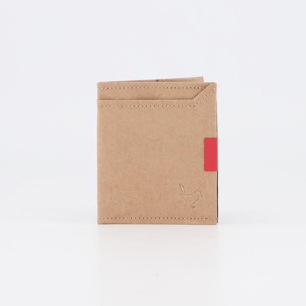 Natural Paper Square Wallet - South Africa