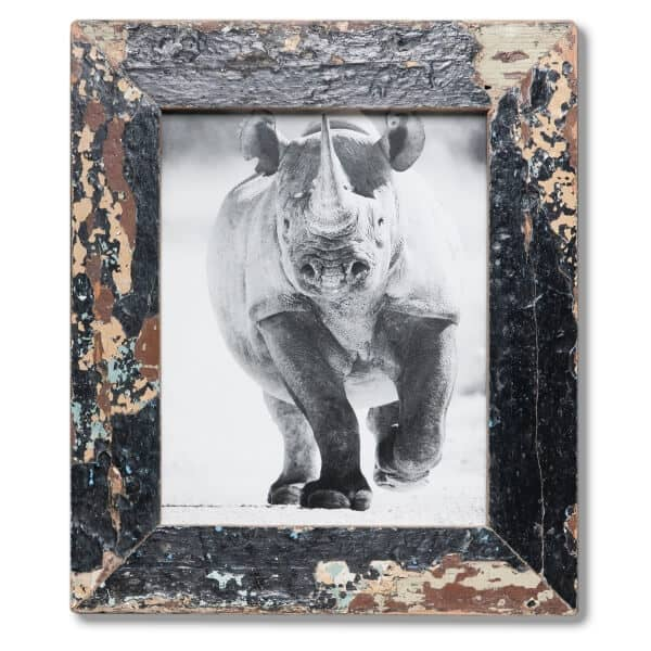 20x25cm Distressed Wooden Picture Frame - South Africa