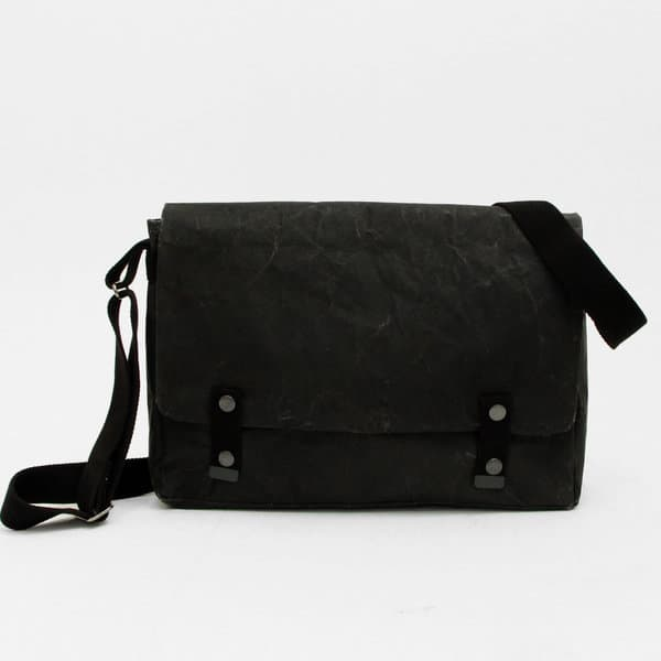 Black Paper Messenger Bag - South Africa