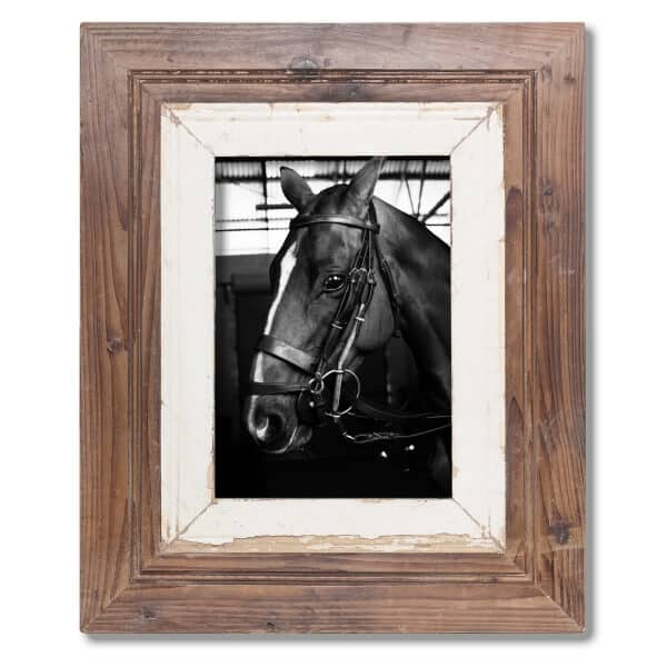 A4 wide Rustic Wooden Picture Frame - South Africa