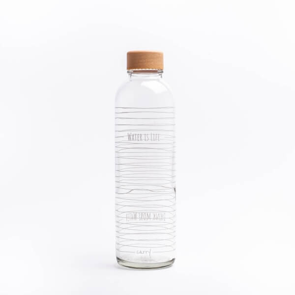 Water is Life, glass bottle 0,7 l - Germany