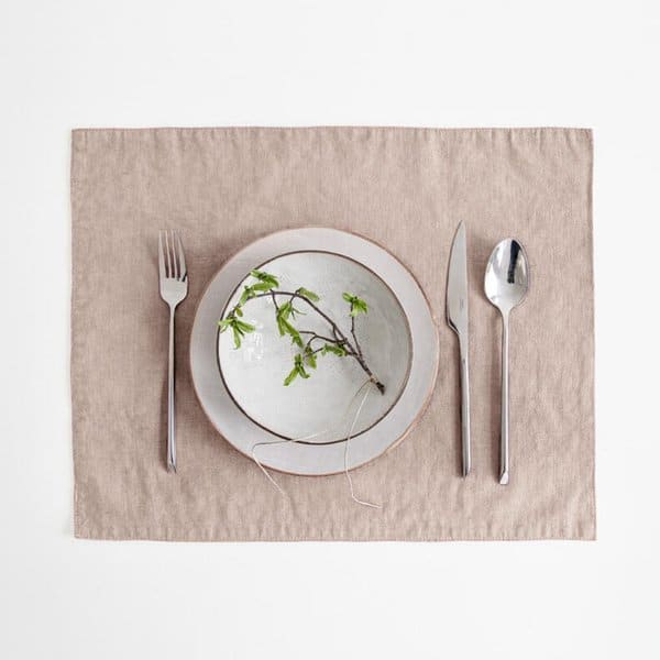 Portobello Washed Linen Placemat - Lithuania