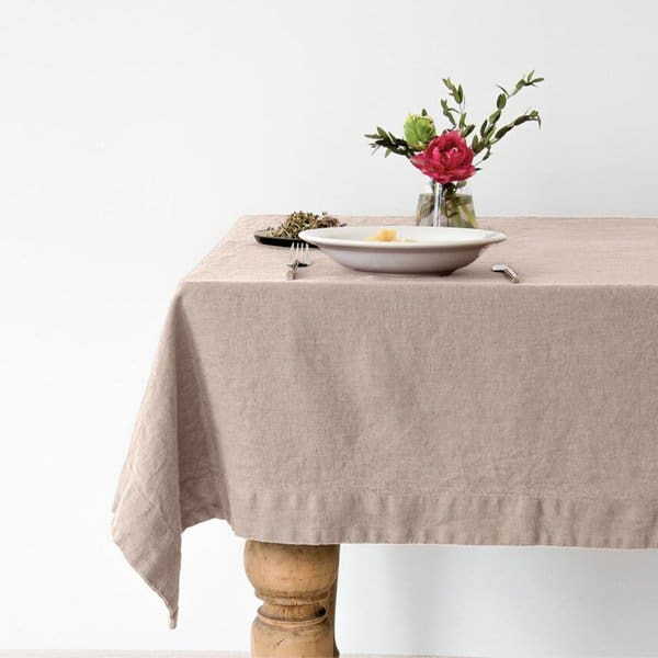 Portobello Washed Linen Tablecloth - Lithuania