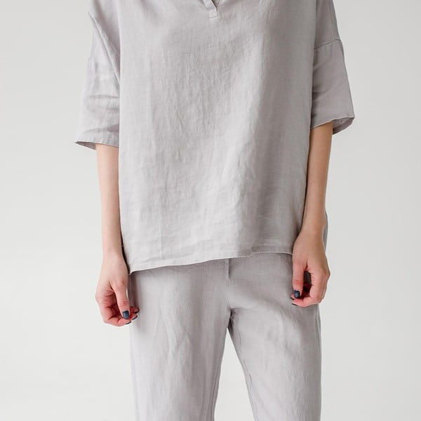 Light Grey Sleepwalker Pyjamas - Lithuania
