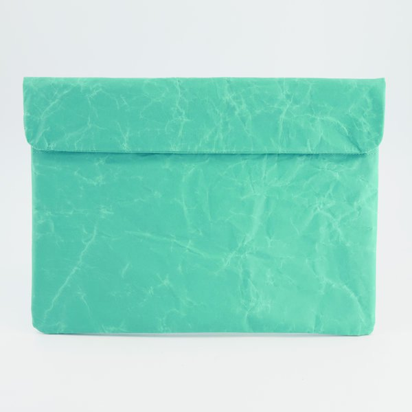 Teal Paper Laptop Sleeve - South Africa