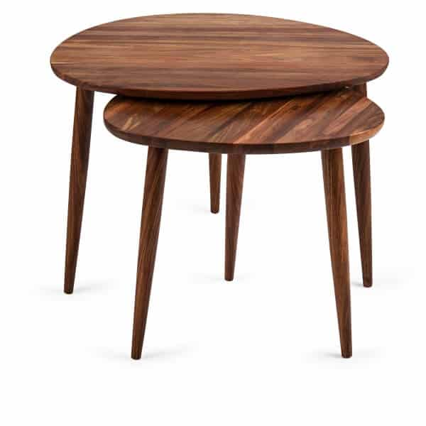 Solidwood Pebble shape Nested tables in Acacia - South Africa