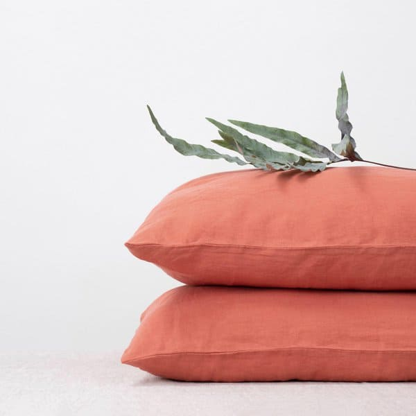 Special Edition | Apricot Linen Pillow Case - Lithuania