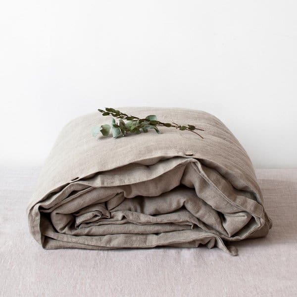 Natural Washed Linen Duvet Cover - Lithuania