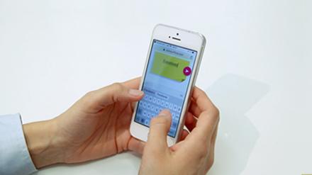 Utiliser via smartphone le logiciel collaboratif Ubikey pour envoyer des étiquettes sur écran interactif