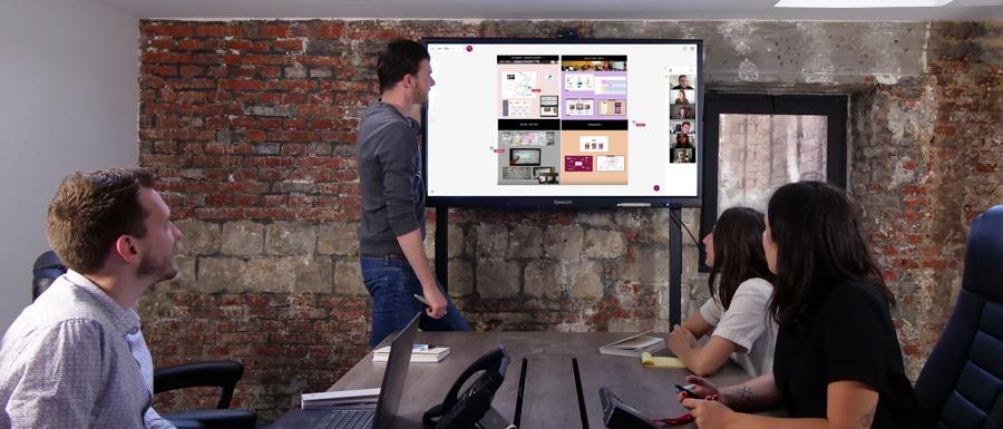 logiciel de télétravail Sofa pour partager ses documents et faire de la visioconférence