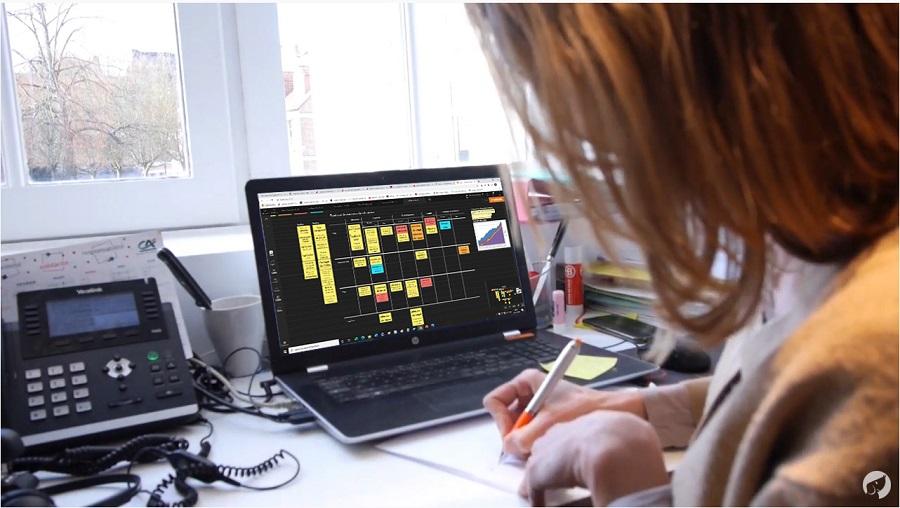 gestion des tâches et de projet en télétravail avec Draft