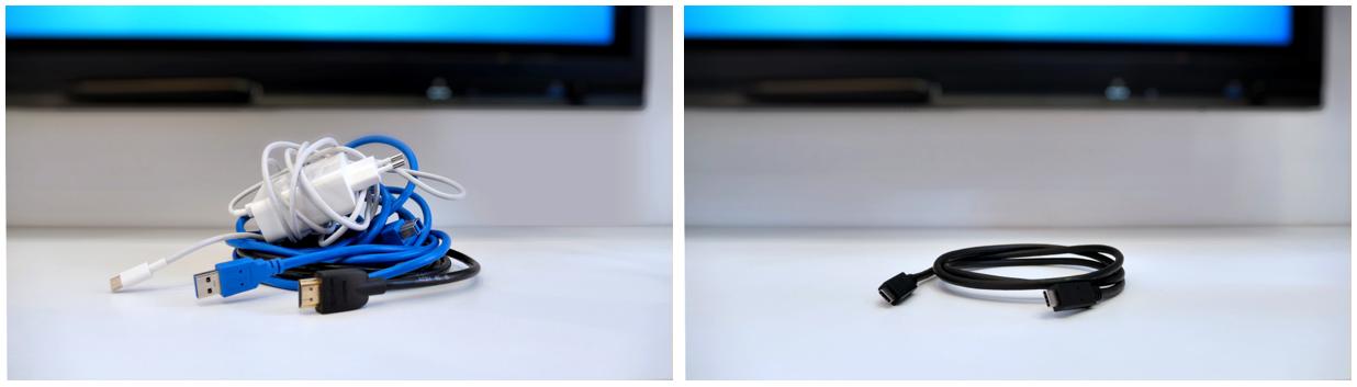 écran interactif avec cable usb c