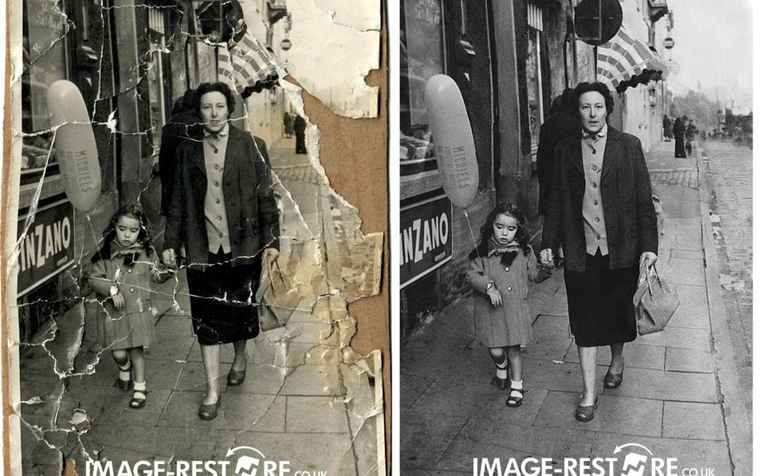 17 amazing photo restoration samples