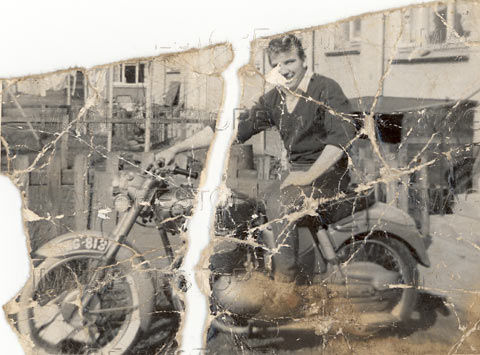 Photo repair and restoration with a bit of imagination.