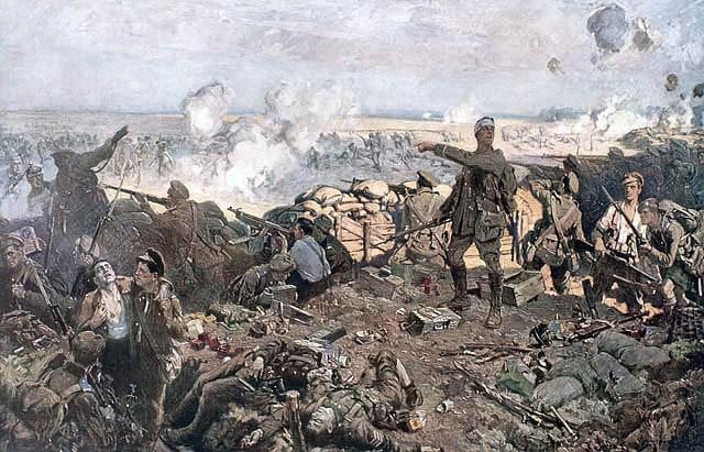 Battle of Ypres war hero William Ford