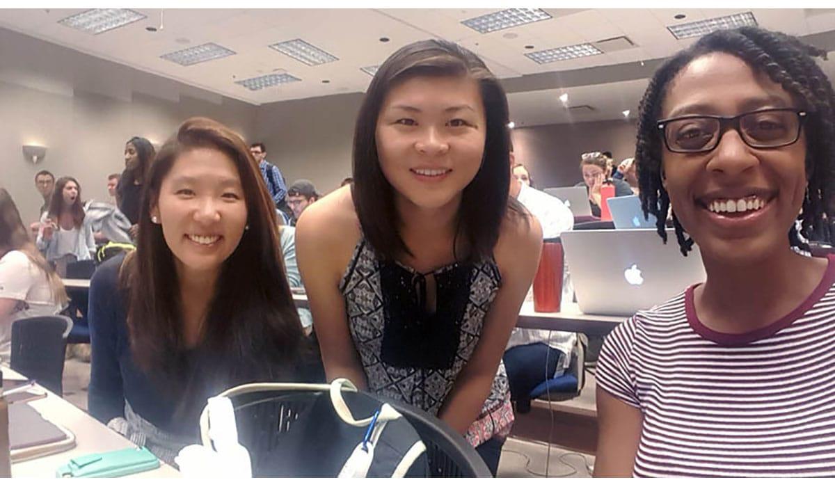 3 Girls Smiling At Camera Gatewayextension