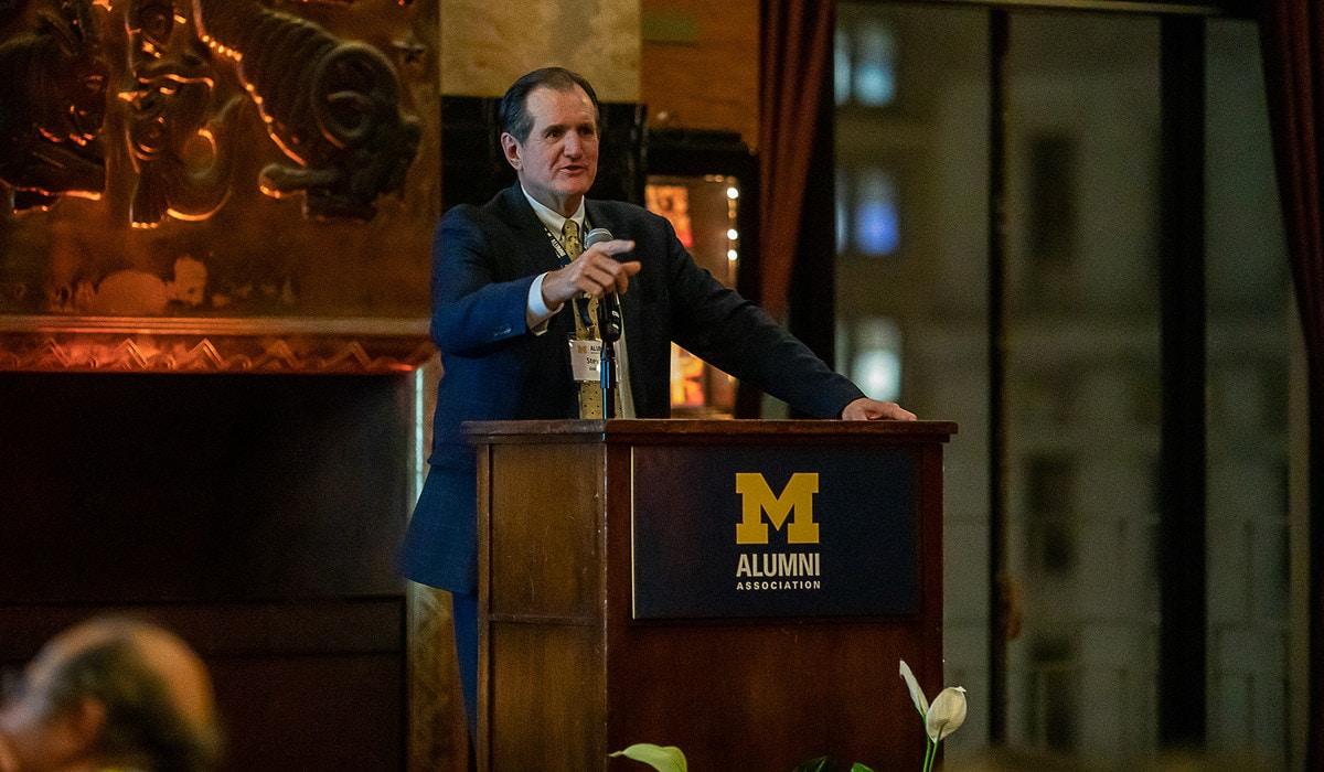 Alumni Association President and CEO Steve Grafton