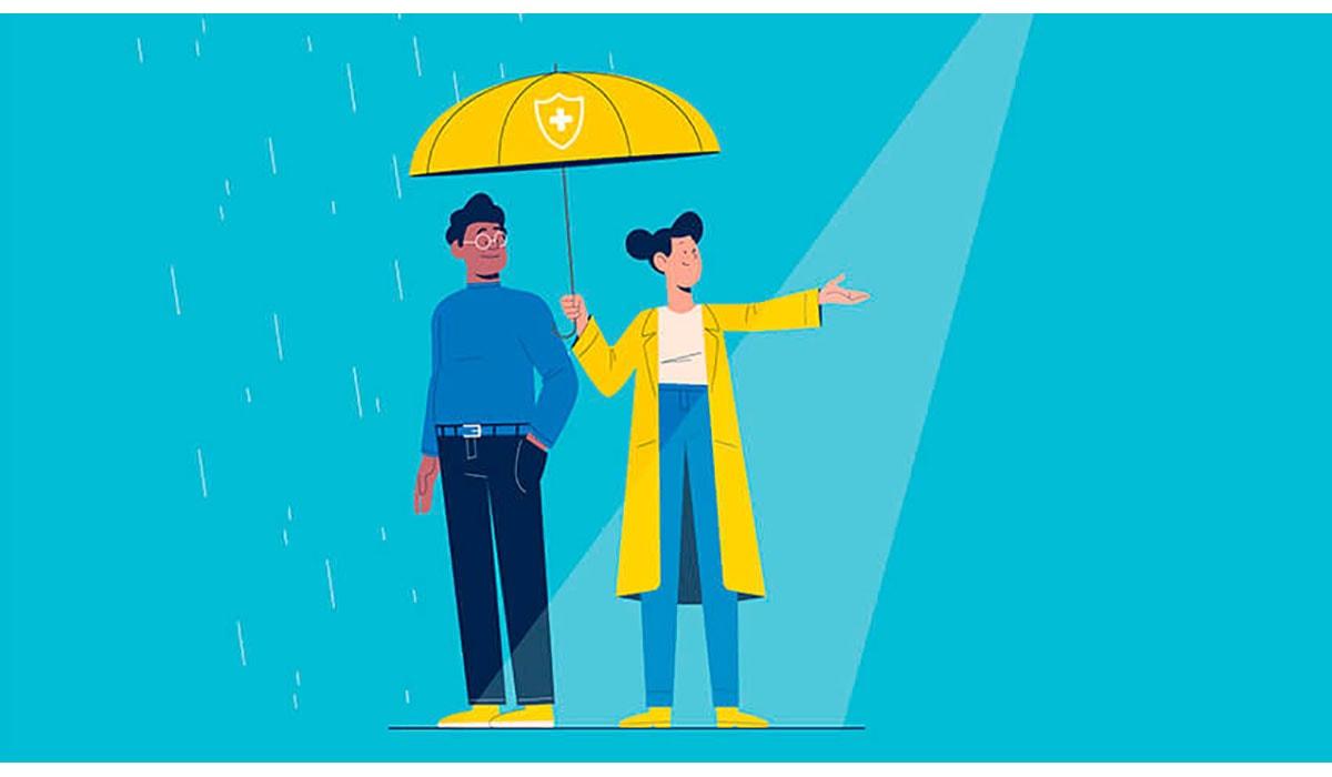 Insurance Umbrella Blue Coverage Rain Gatewayextension