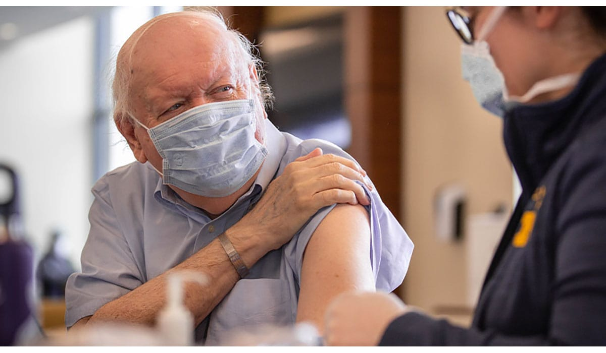 Man Getting COVID Vaccine Gatewayextension